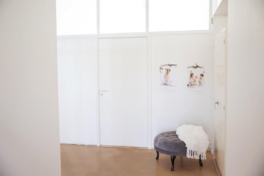 Pryder min annars ganska vita korridor