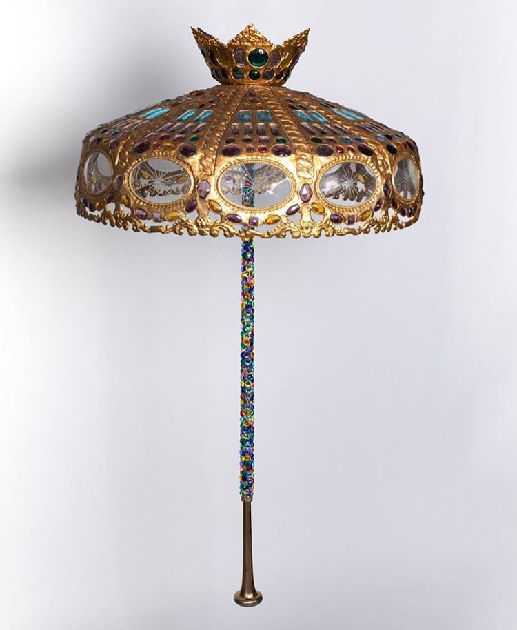 Glass Light Umbrella by Oumaima Sarah Karmoune