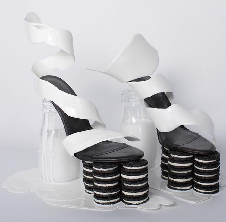 Milk and Cookies Shoes by Olivia Pracher