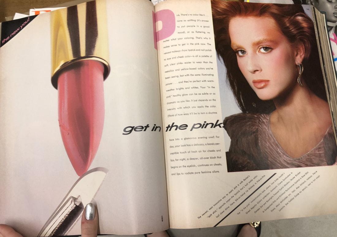Harper's Bazaar's February 1982 issue