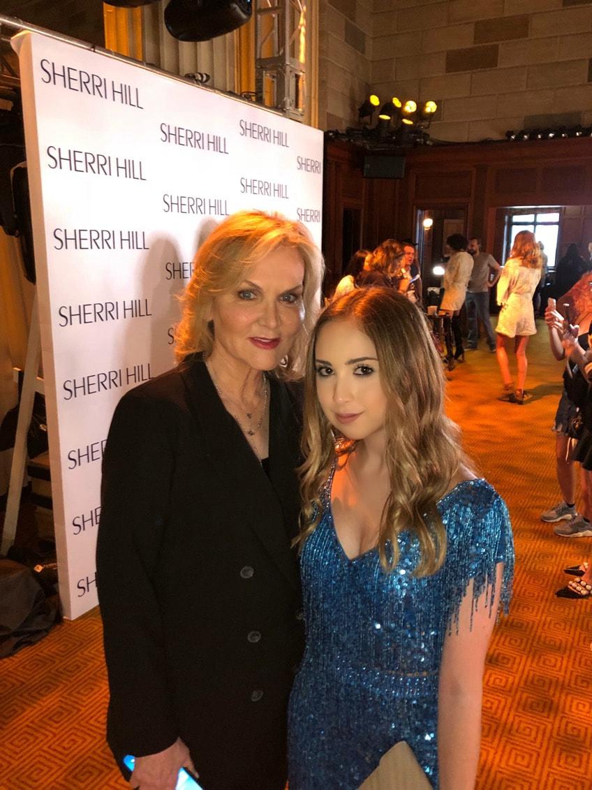 Me with Sherri Hill