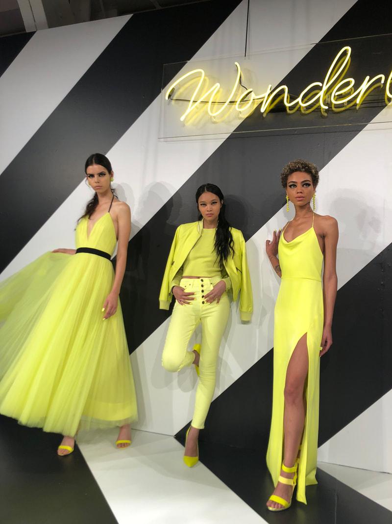 """Models at the """"Wonderland"""" destination"""