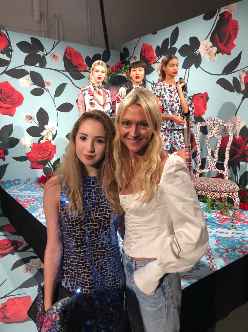 Me and Zanna Rossi