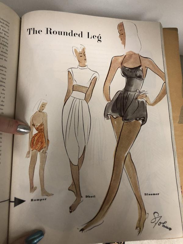 Harper's Bazaar's December 1945 Issue