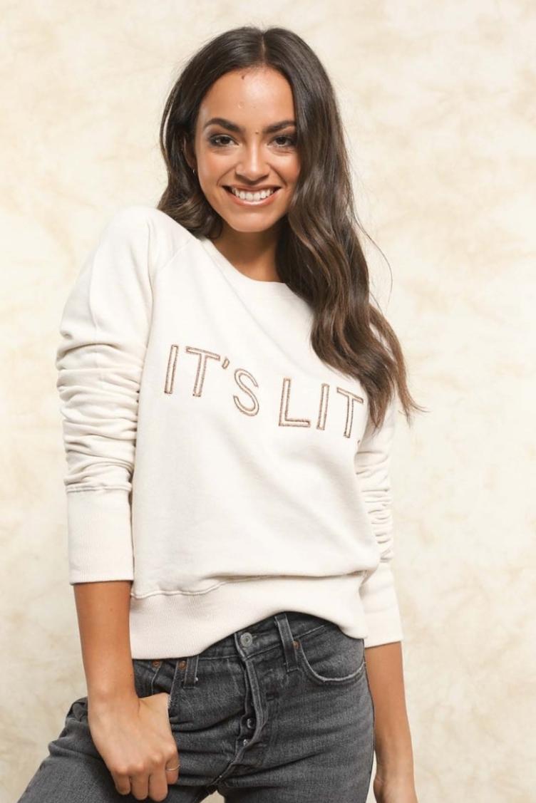 7. Shop Fletch It's Lit Sweatshirt by Joelle Fletcher