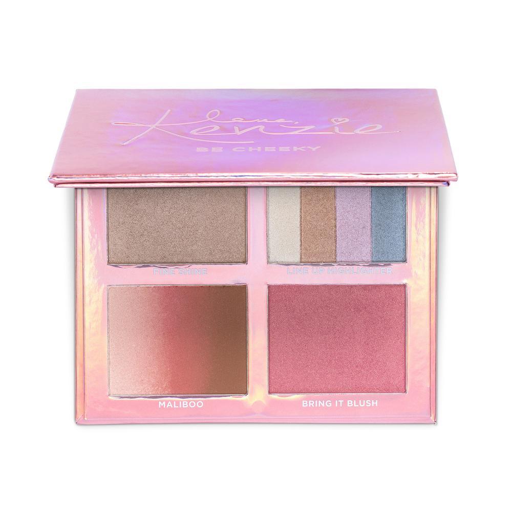 1. Love Kenzie Beauty Be Cheeky Palette