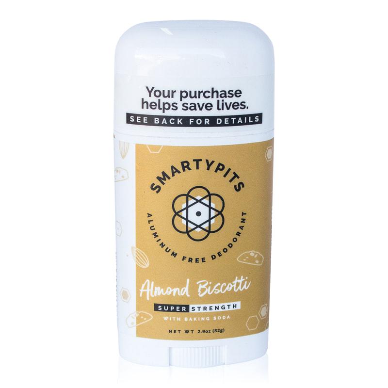 2. SmartyPits Almond Biscotti Deodorant