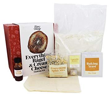 8. FarmSteady Everything Bagel & Cream Cheese Kit
