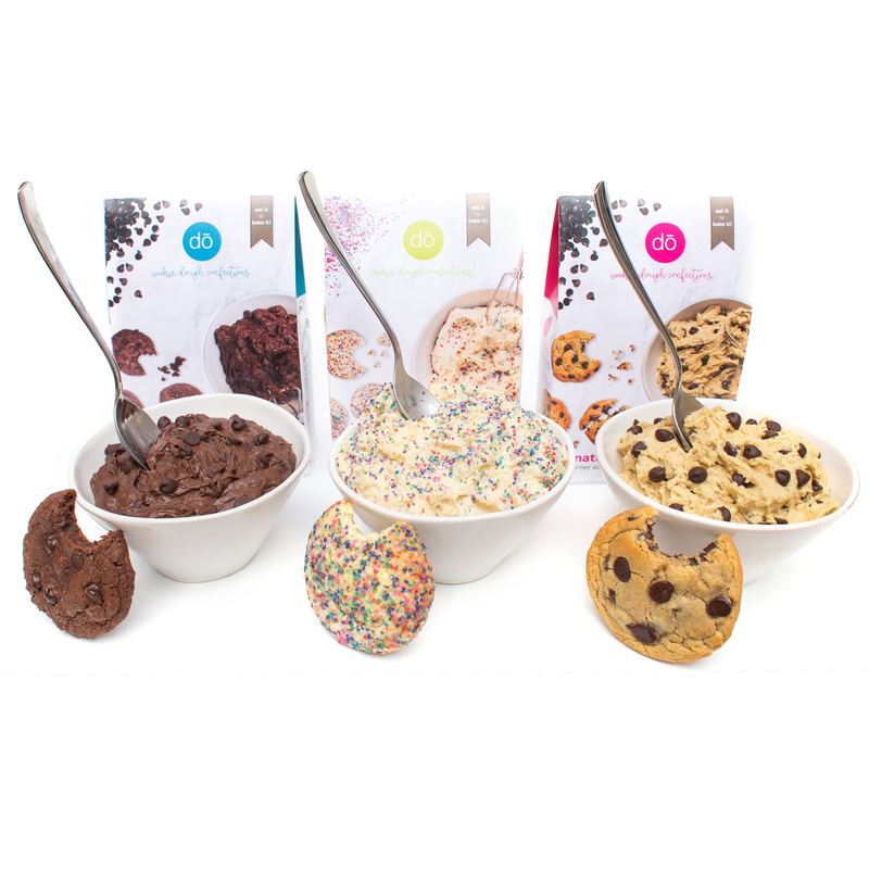 2. Cookie DŌ Edible & Bakeable Cookie Dough Mix