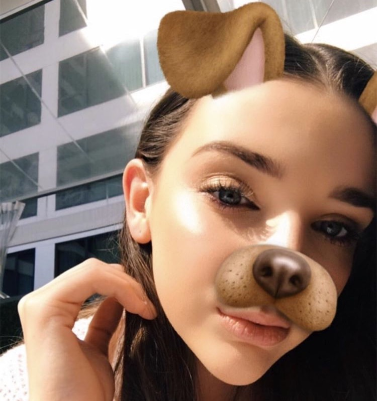 "Daisy gave Kendall Vertes (Dance Moms) ""au naturel"" brows"