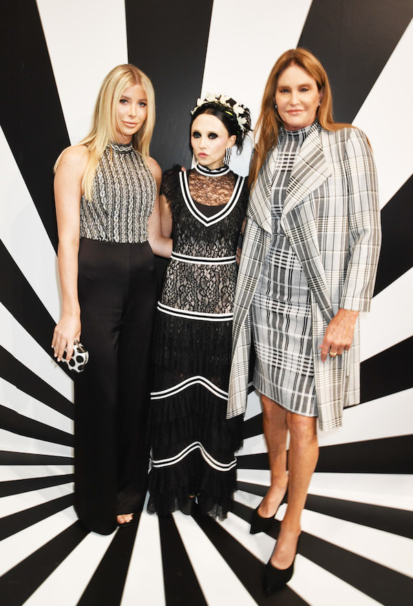 Sophia Hutchins, Stacey Bendet, and Caitlyn Jenner