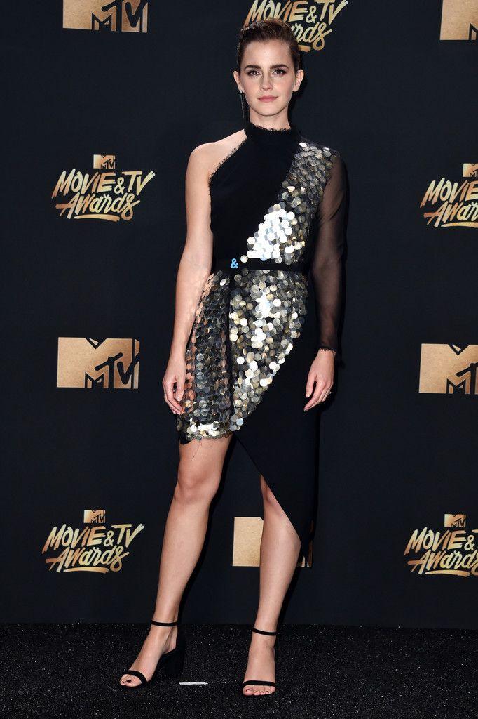 Watson wearing a Kitx mini dress