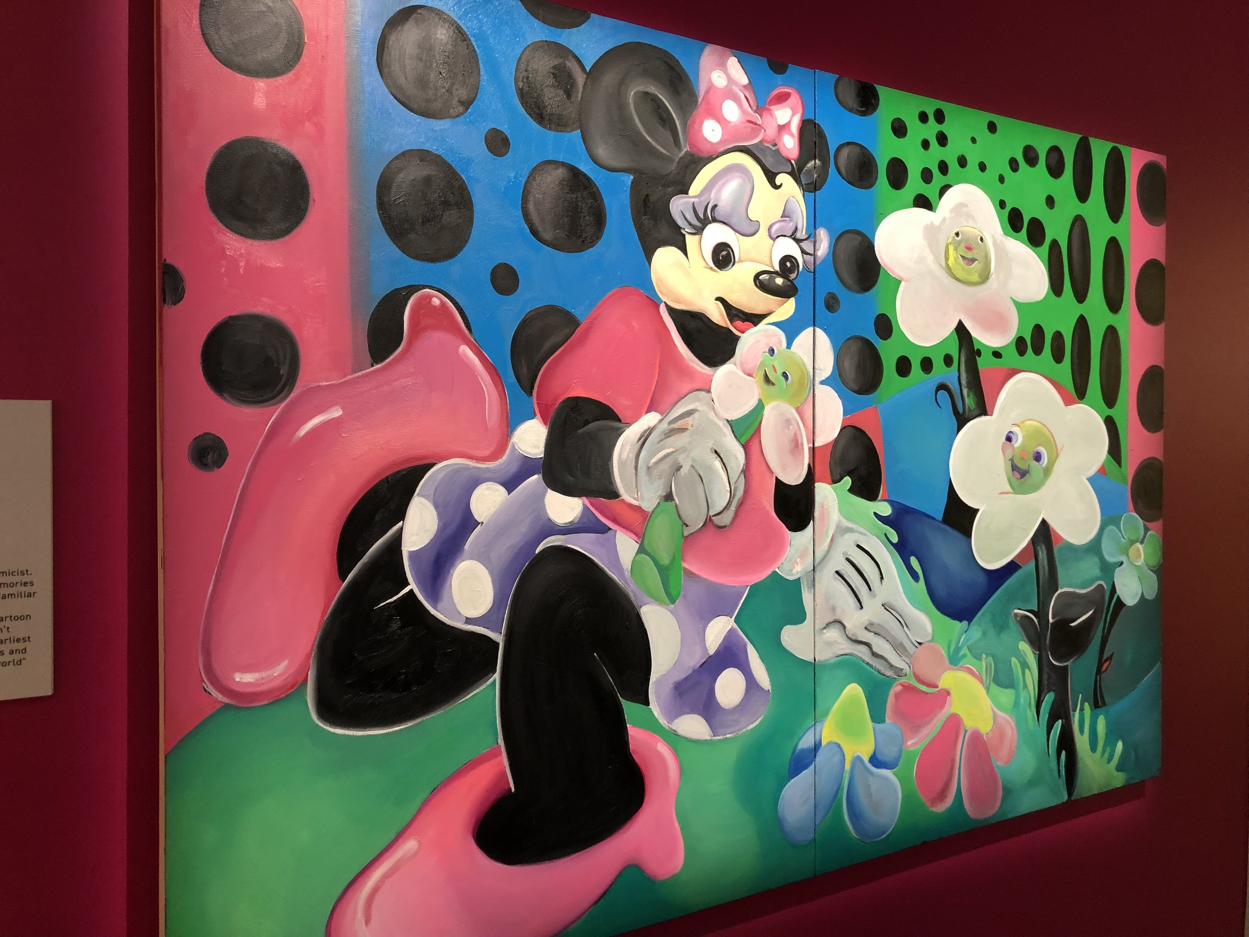 """Alake Shilling's """"A Nice Day with Minnie and Daisies"""""""
