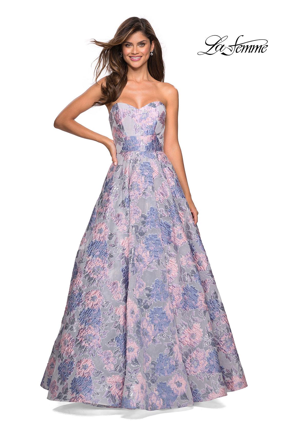 La Femme Prom Dresses Style 27507