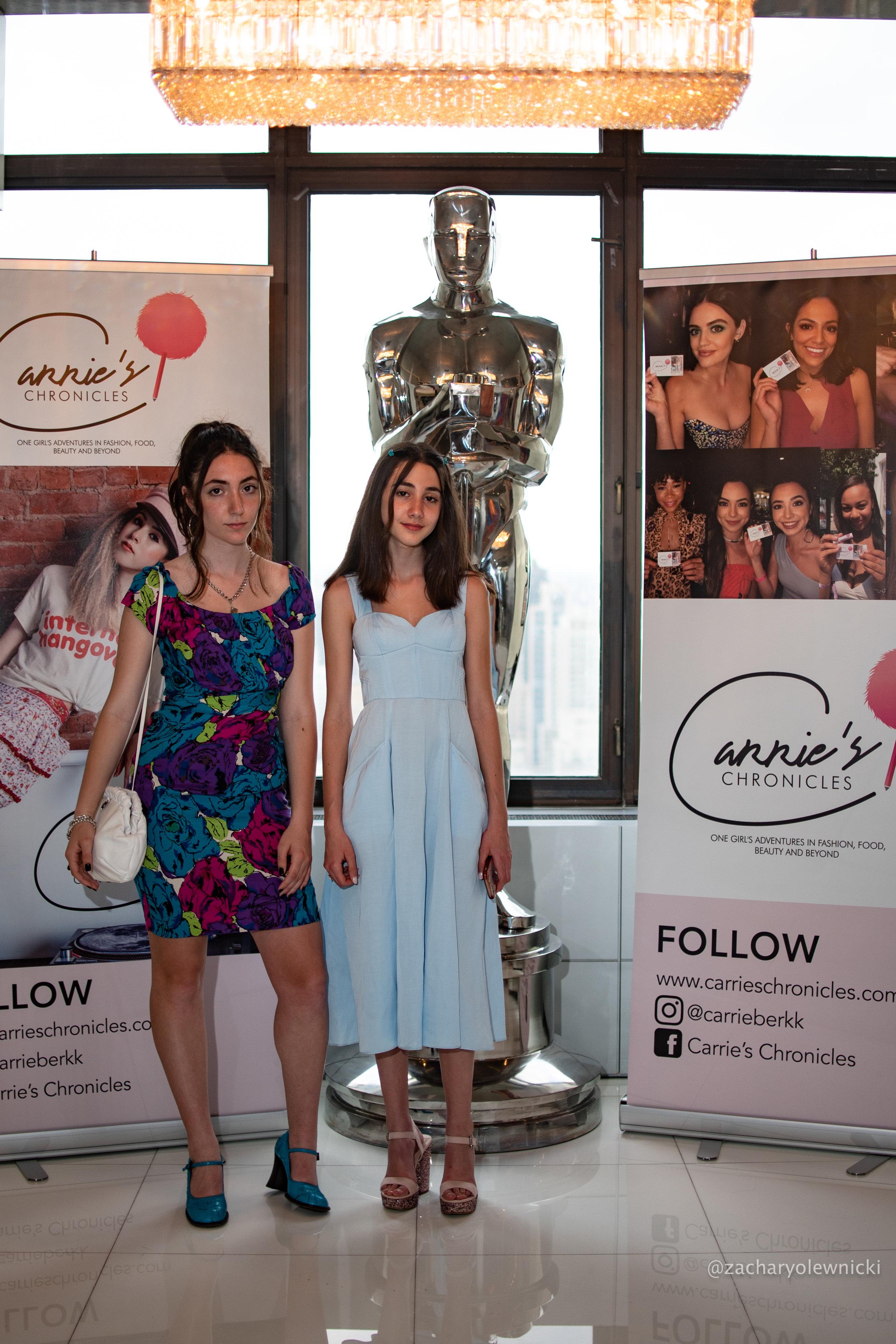 Angelina Zaphyria and Mikaela Astel