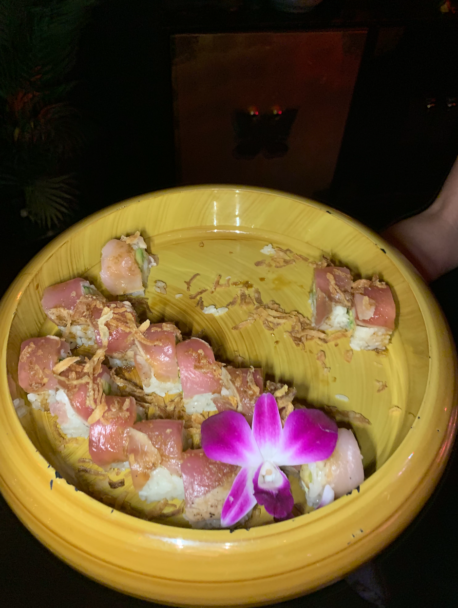 Tuna Avocado Shrimp Sushi