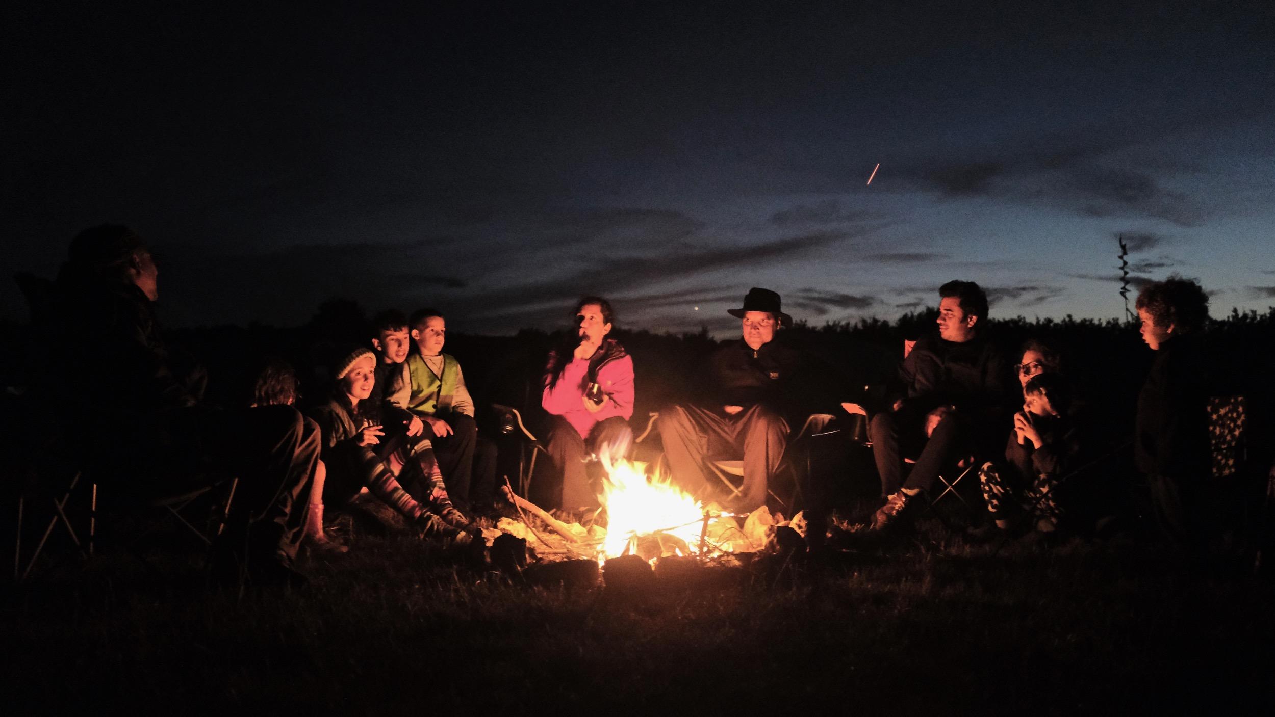 Crackle, marshmallow & shooting stars