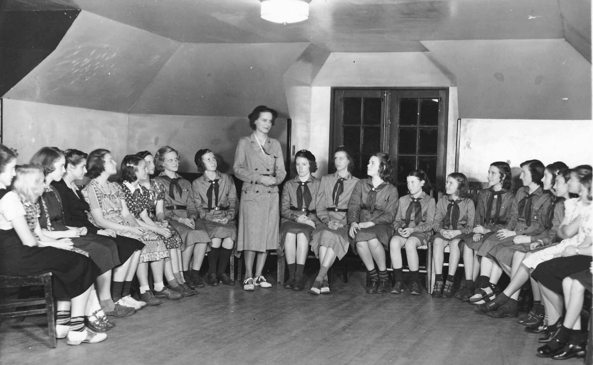 Girl Scout Troop Meeting
