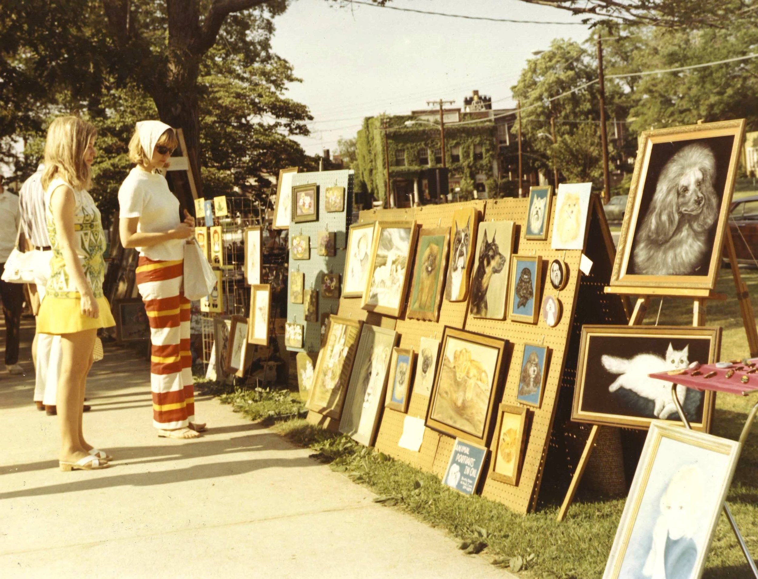 Sterling House Arts Fair ca. 1960's