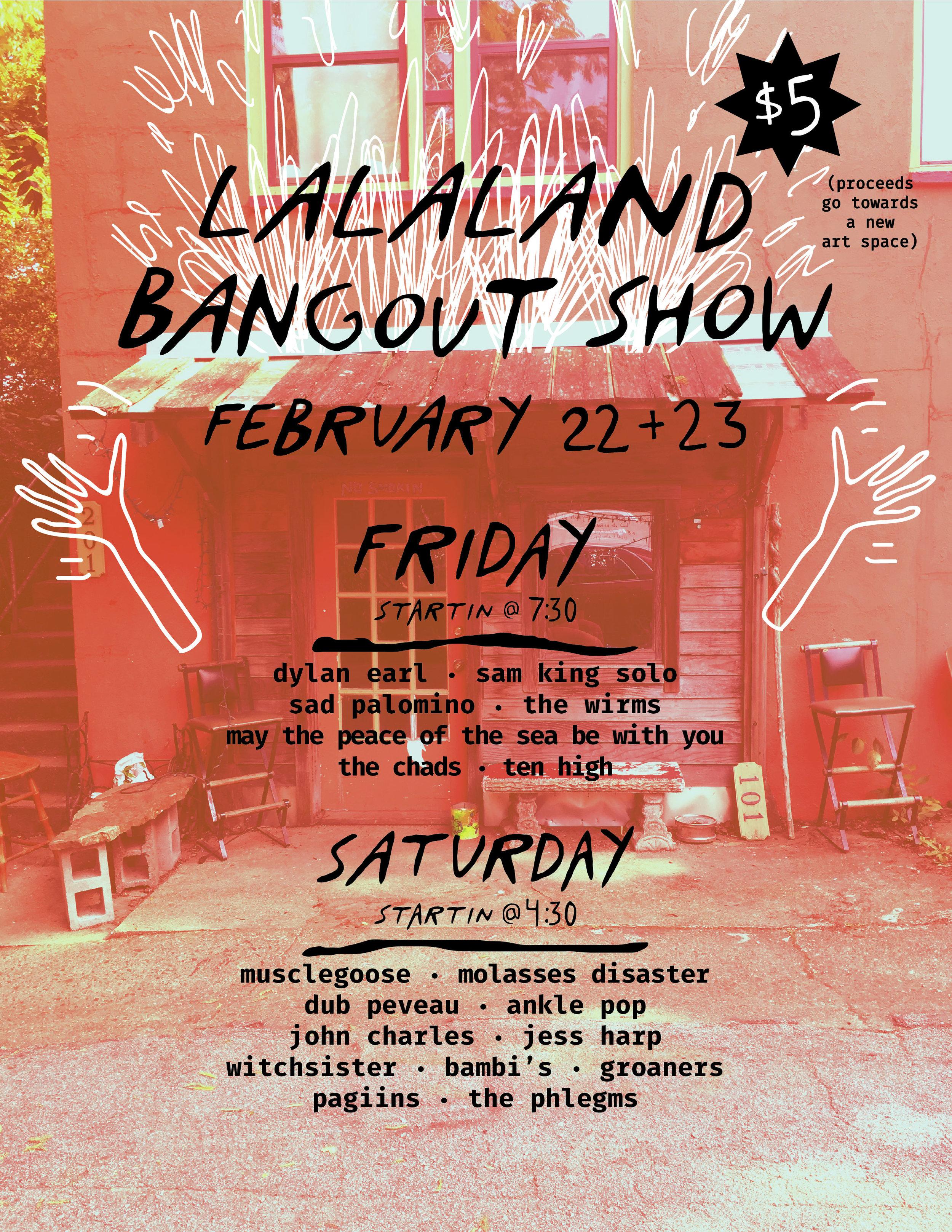 lalaland bangout show