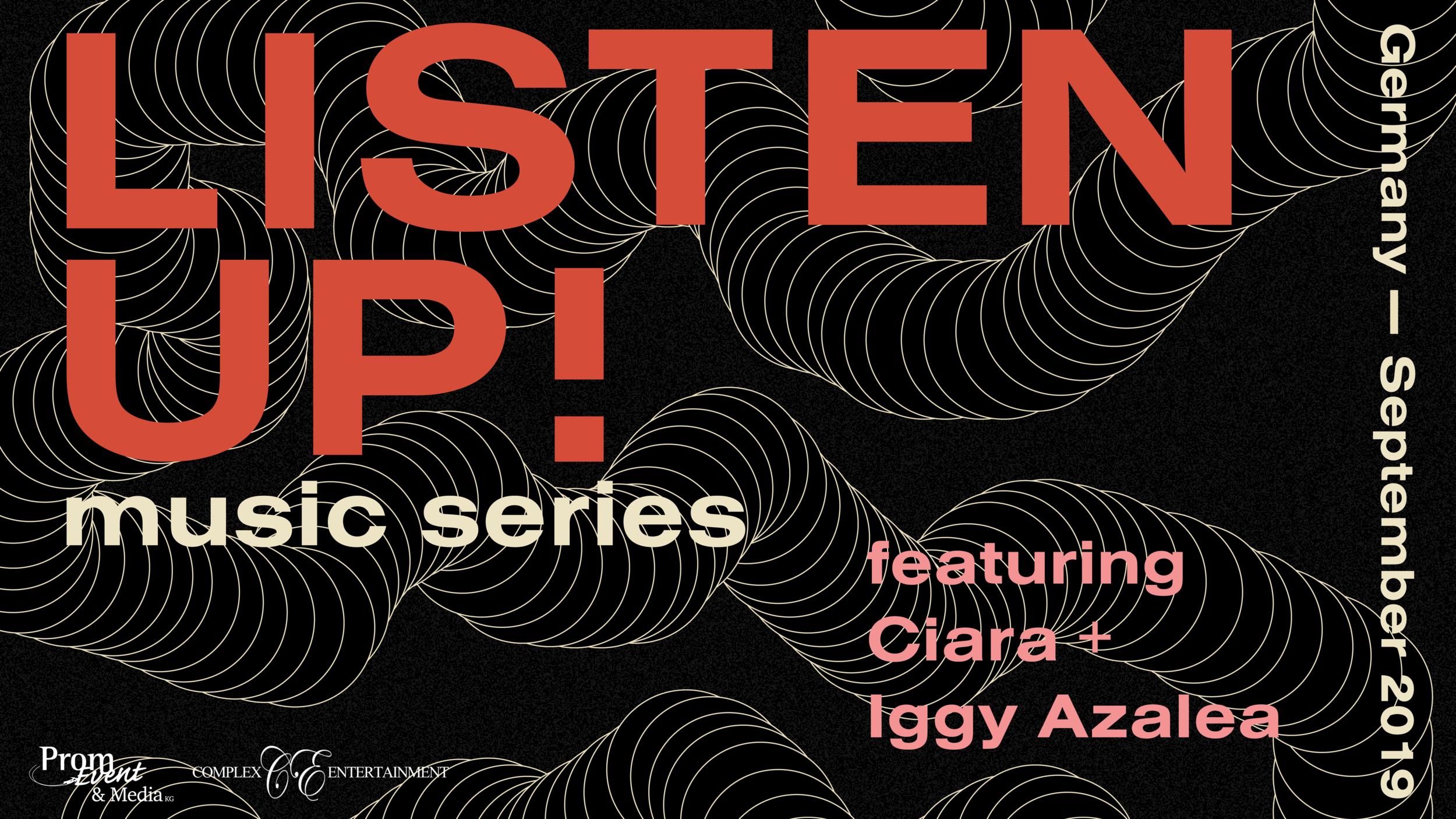 listen up! music series
