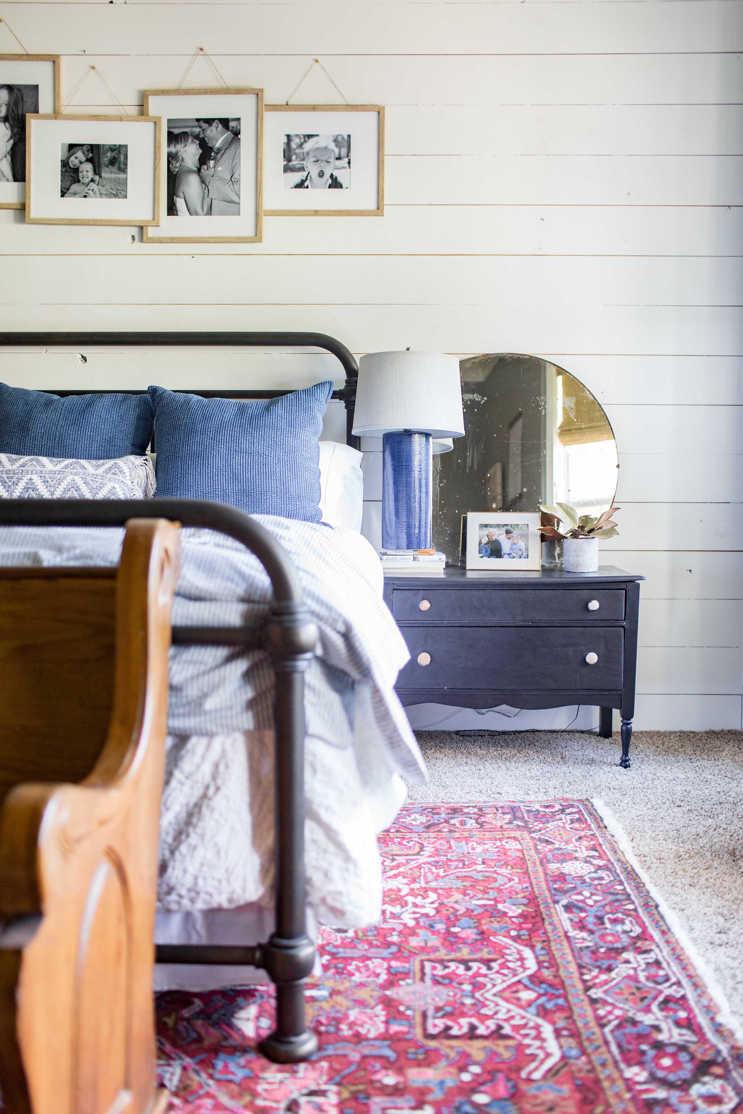 Classic Blue & White Master Bedroom -