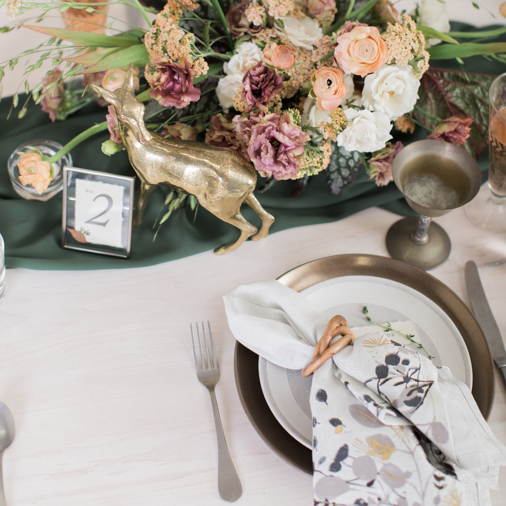 Design - You'll share your design board(s) and review with you to identify your style/theme/design and help you narrow down decor like your linens, napkins, flatware, table, chair and styling choices.During this phase securing and booking your creative team is the goal.