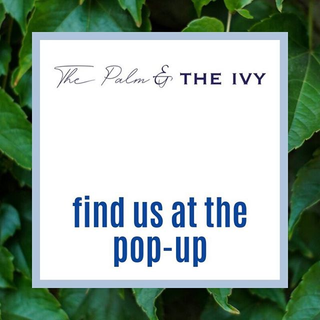 Hey guys! I'm thrilled to announce that you can see our products in person and online at www.shopthepalmandtheivy.com  Check out awesome brands for women, men, and kids! 💙💚 west coast cool meets east coast classic ✨