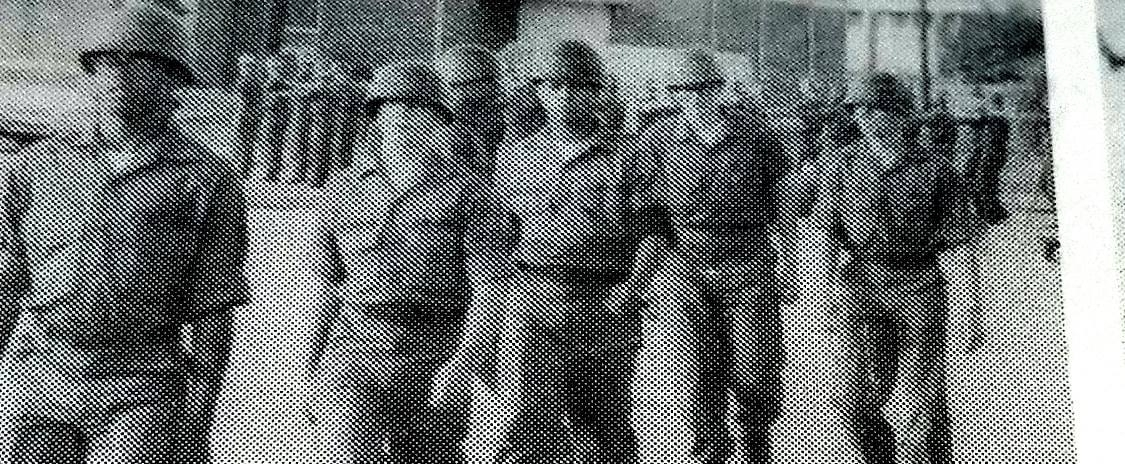 """They served us, now it's time we served them!"" - Thomas J. Kerrigan, September 1981, Fort Jackson SC."