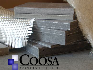 Featureing coosa board - Superior to any pourable productStronger than woodPanels are flat and straightComposite board will not rotUp to 45% lighter than wood