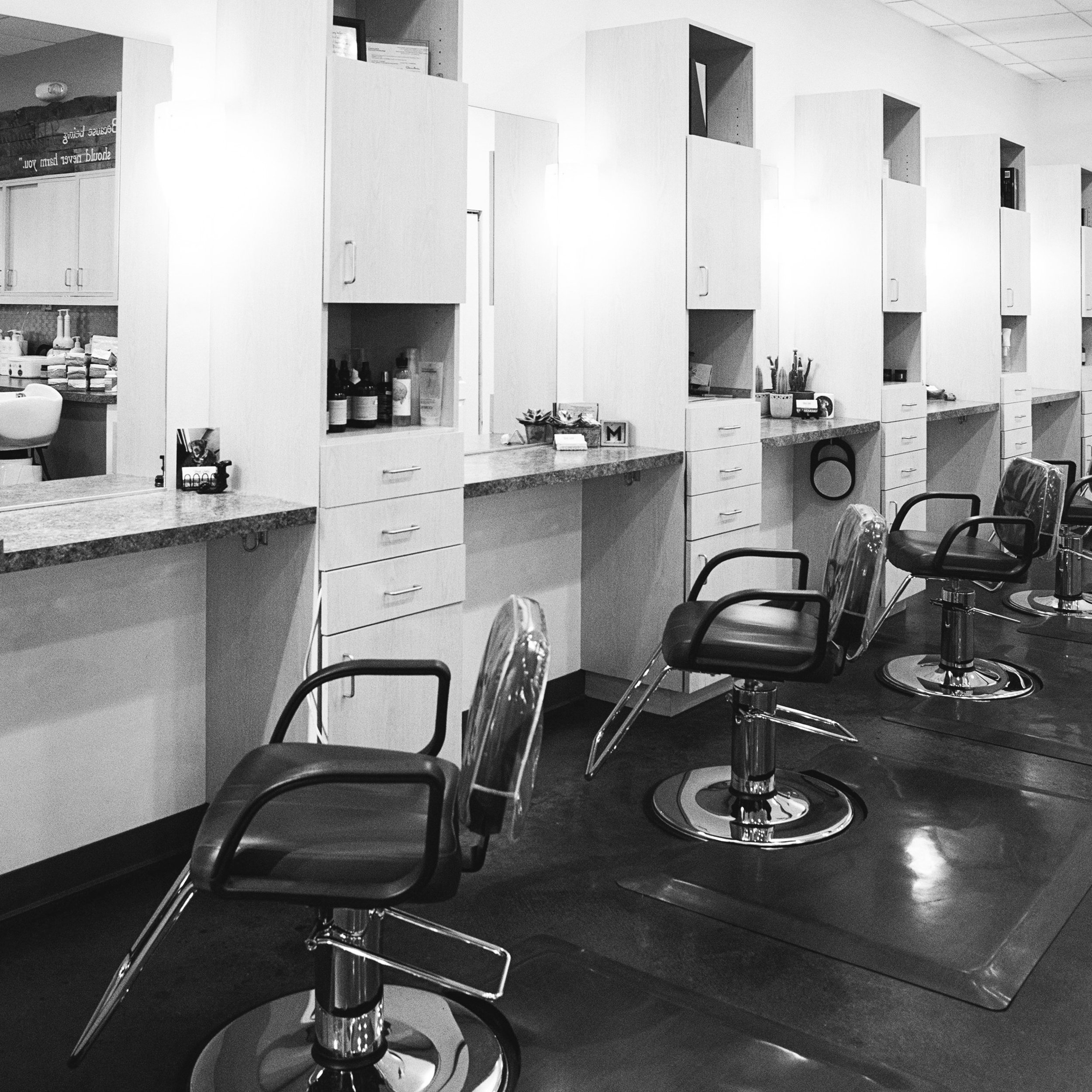 Salon & Spa - Verde Salon & Spa is proud to be a non-toxic salon and spa environment.