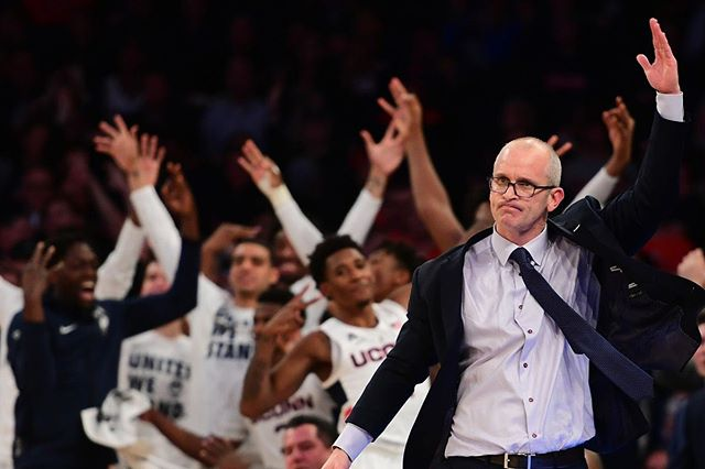 Hey UConn Men's Basketball fans! Exciting news:  Our own Eric Gallichio will be sitting down with Coach Dan Hurley on Tuesday to recap his first season at the helm, and preview what is sure to be a big year 2.  What questions do you want answered?  Let us know in the comments!  #BleedBlue