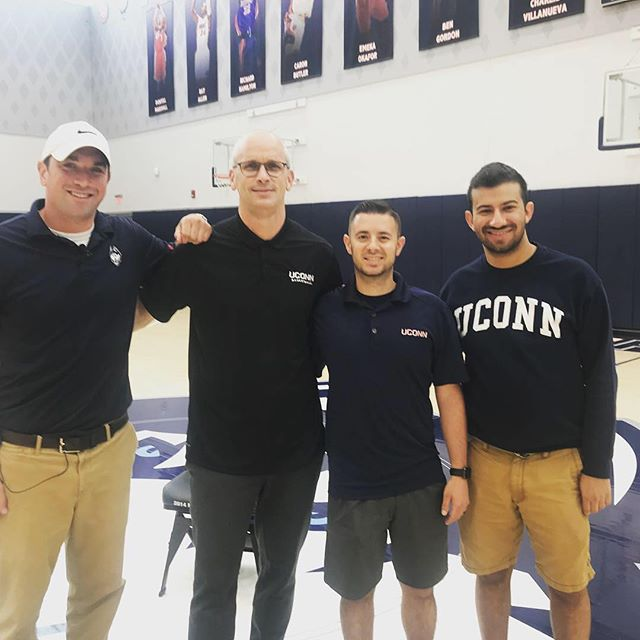 Our own @jake.ferrari & @egallichio sat down with Coach Hurley to talk all things UConn Basketball.  Full interview coming soon.