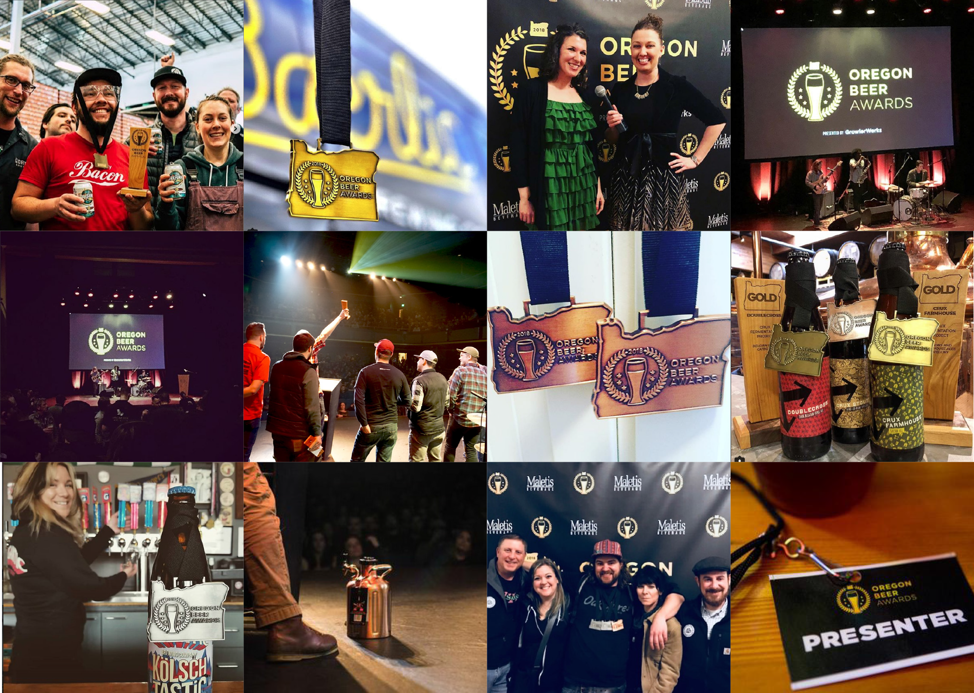 #oregonbeerawards - Visit collection of photos from social media here.View GrowerWerks photos here.