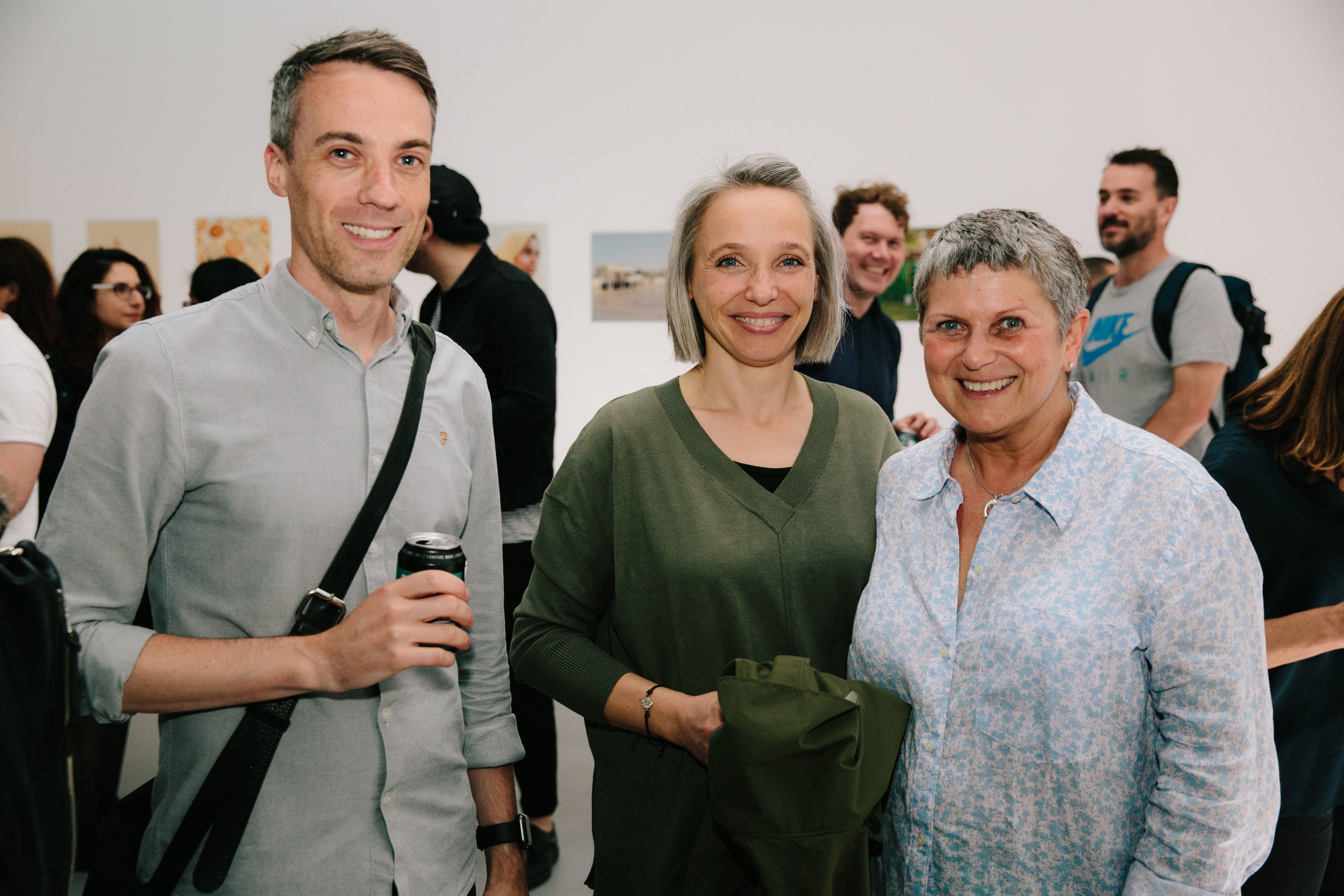 Three of the Judges for LPA Futures 2019, Tom Dance, Ingrid Wimart & Lesley Scott.
