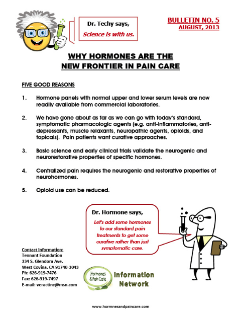 Bulletin 5: Why Hormones Are The New Frontier In Pain Care