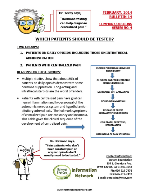 Bulletin 14: Which Patients Should Be Tested?
