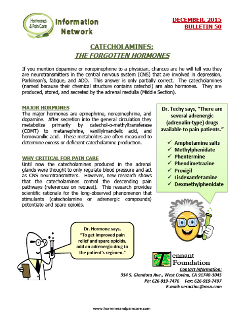 Bulletin 50: Catecholamines: The Forgotten Hormones