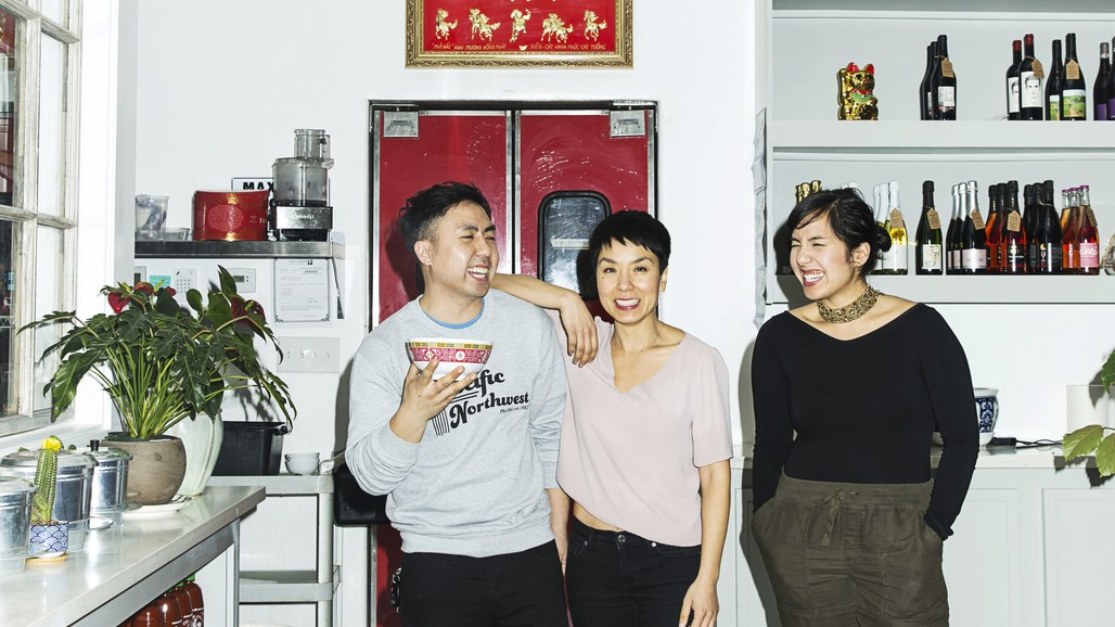 Khoa, Quynh, and Yenvy Pham