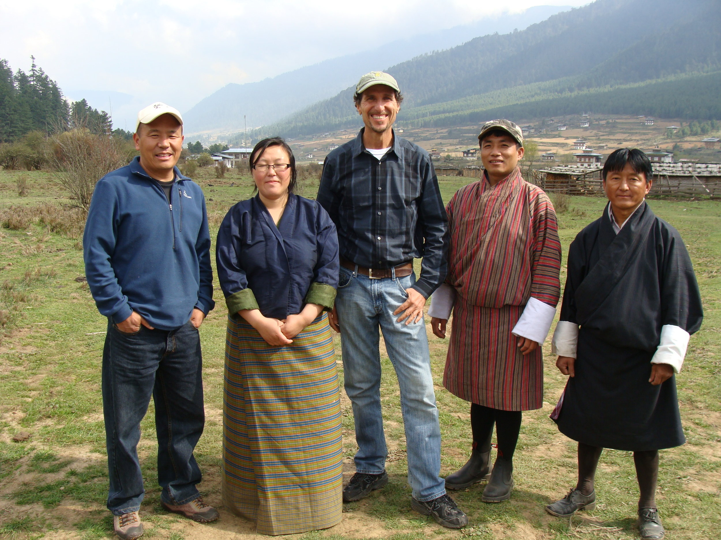 Costas Christ - Working with local villagers on sustainable tourism planning in Bhutan.jpg