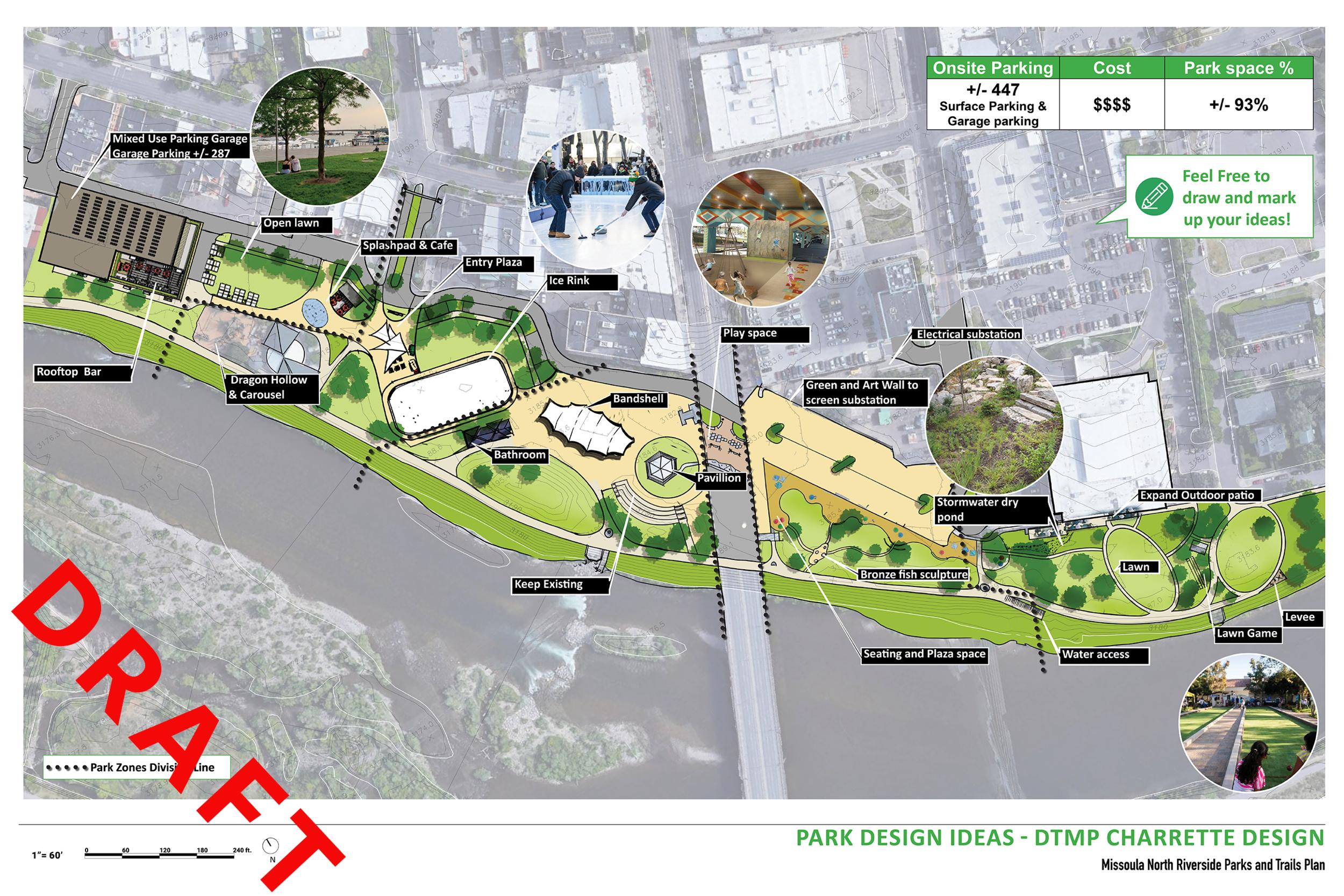 4.-Park Design Ideas - DTMP Charrette Design