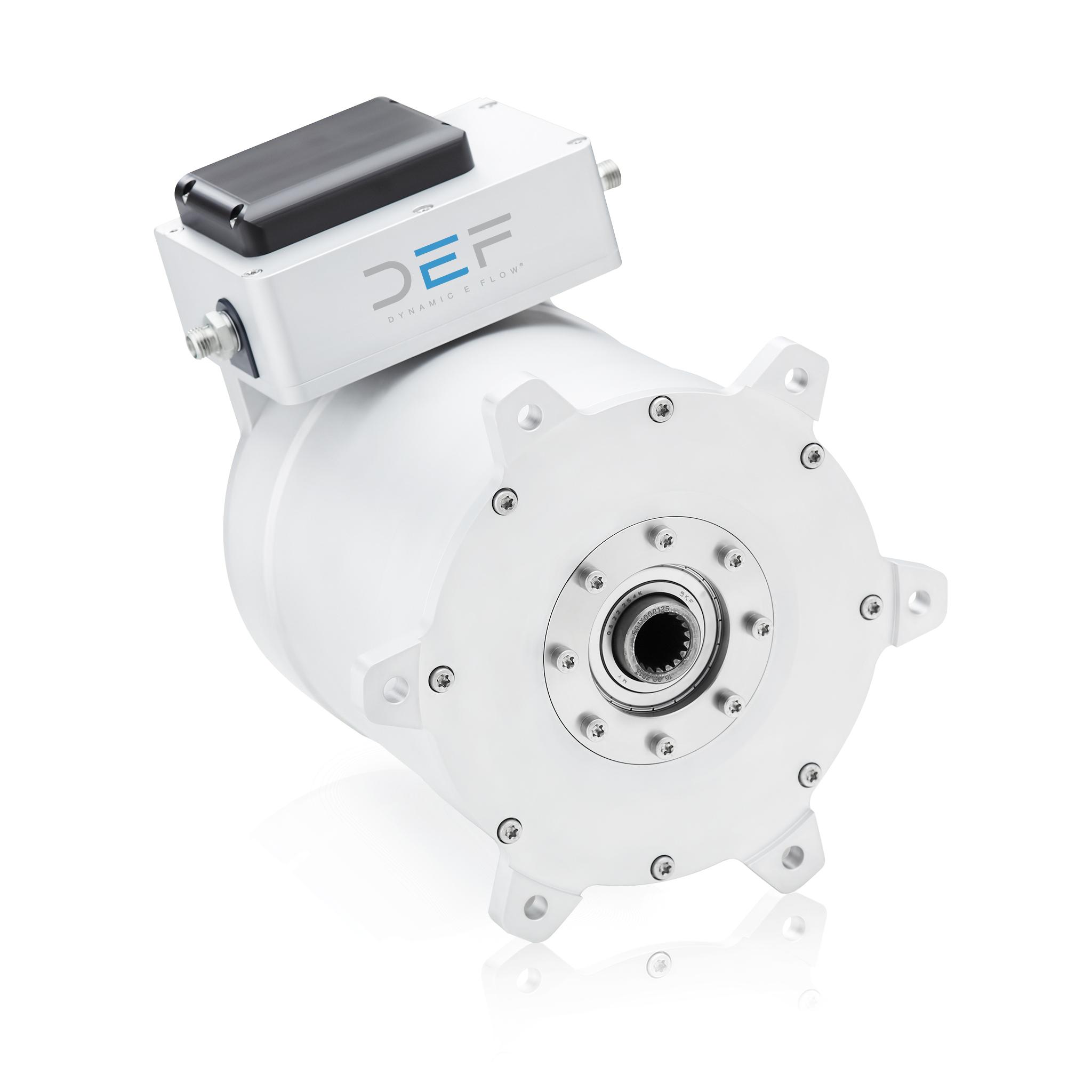 ….  © dynamic E flow, Neues HC Elektromotorsystem mit integrierter capcooltech®  ..  © dynamic E flow, New HC Electric Motor System with integrated capcooltech®  ….