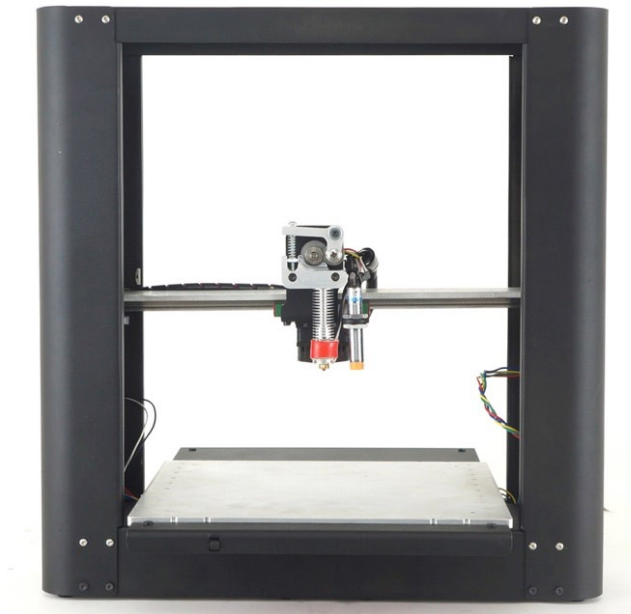 """Plus - A Black Friday release racked up over $300,000 in sales in 24 hours. It crushed us but solidified our reputation for building strong printers that performed well. This thing is a beast. Over-built, for sure, but incredible value. It has a rabid following to this day. It did has a two-headed version but the state of the software killed my desire to pursue dual material printing, so I discontinued the two-headed beast. Like the Simple Metal, I could reproduce these today and change almost nothing. Brian Roe did a great job, again, with the design. This printer is another one I won't be surprised if I see on someone's desk printing away in 10 years.How is this for openness? :) - COGS CSV File HereBuild Volume: 10"""" x 10"""" x 10""""First released 2014"""