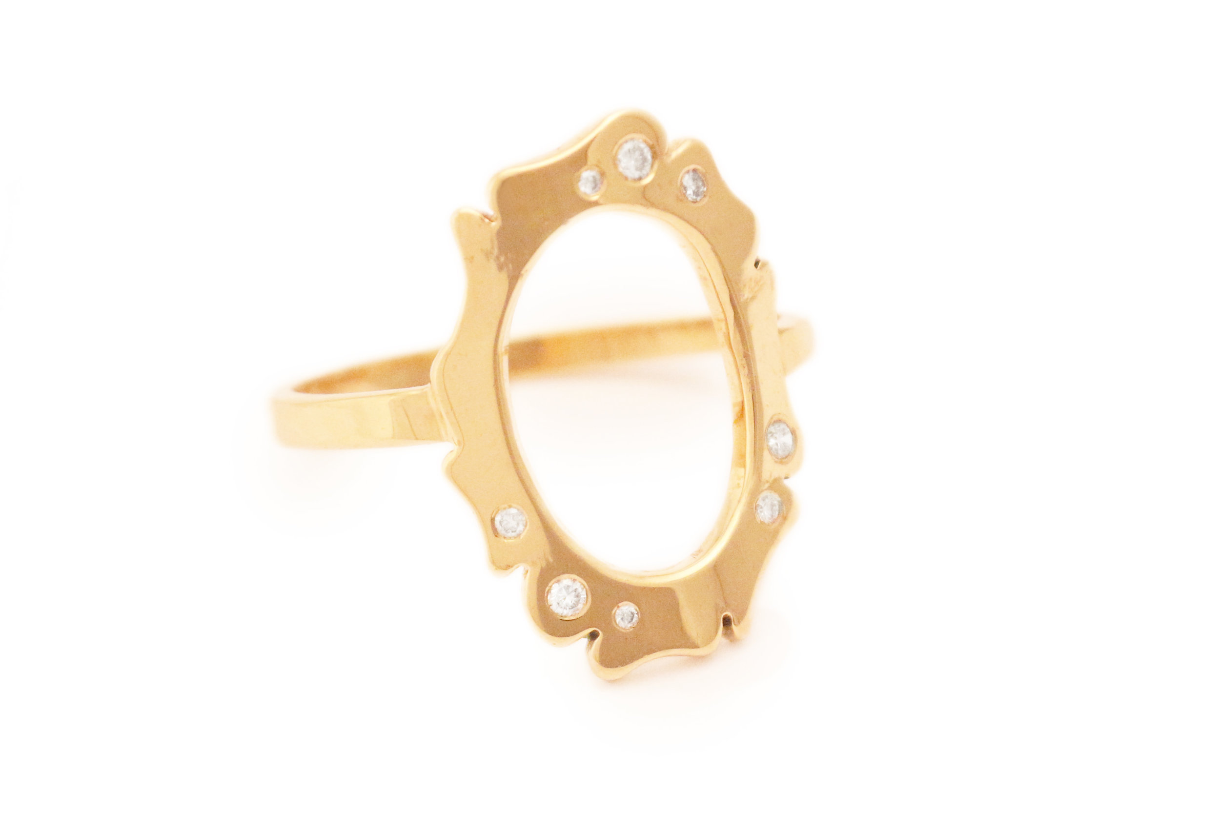 D Flora Open Ring  Click here to shop