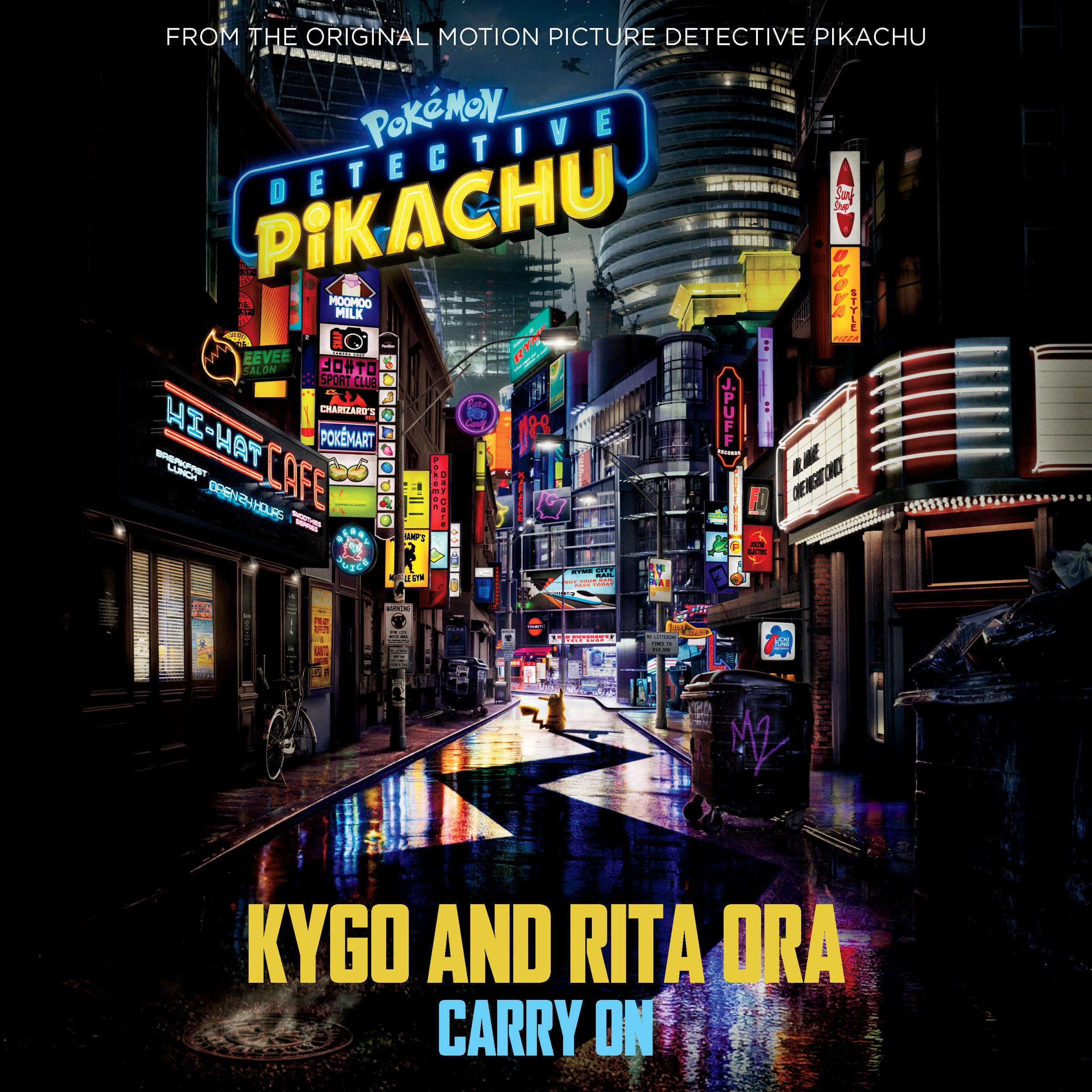 KYGO & RITA ORA - CARRY ON (SINGLE)