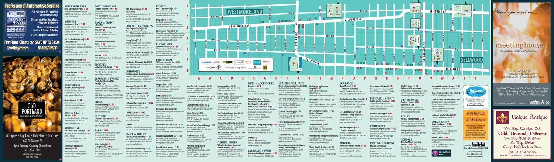 Walking Map -