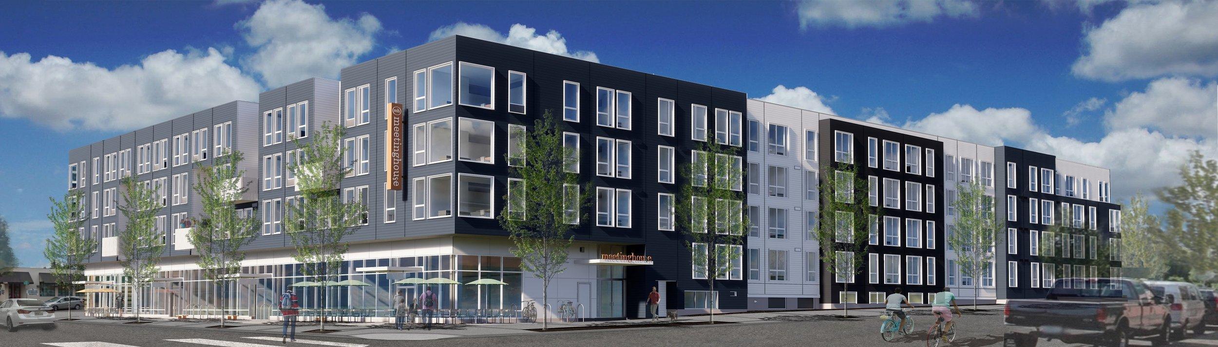 Meetinghouse Apartments Sellwood Moreland Portland Oregon Brand New Now Leasing Templeton - Templeton.jpg