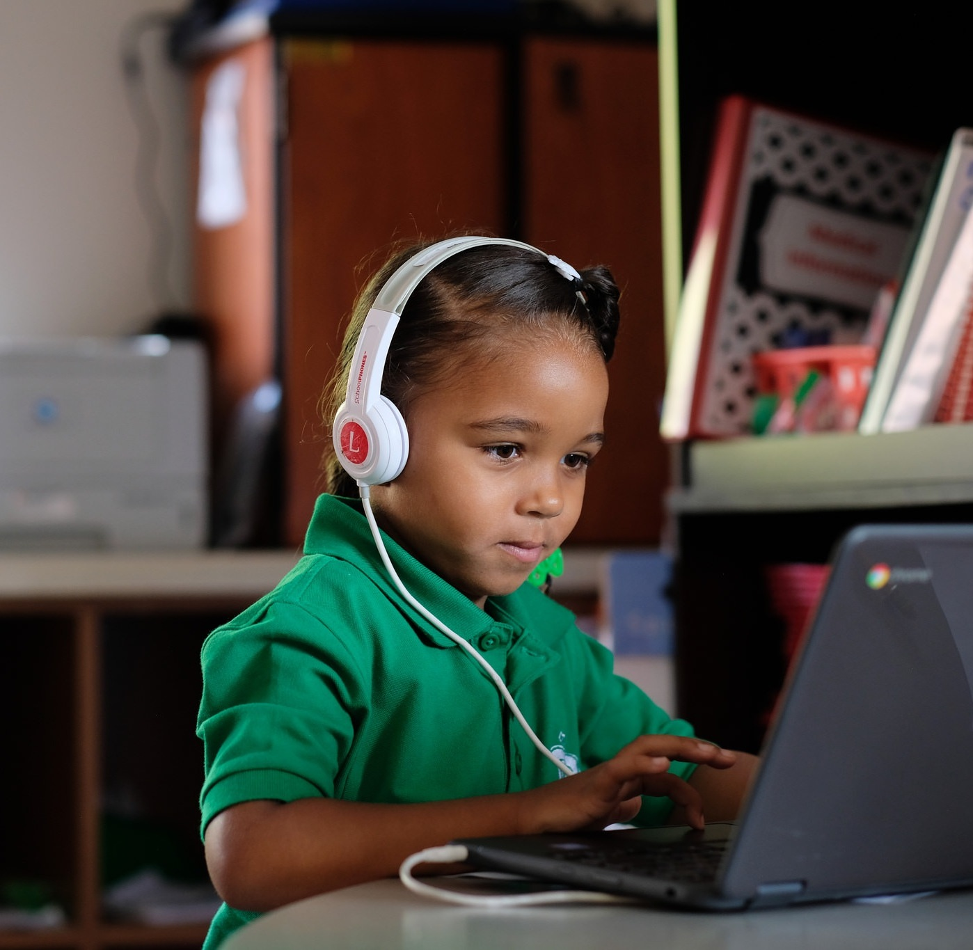 Technology Access - Each K-5th grade classroom has 1 technology device per 3 scholars, and each 6th-8th grade classroom has one technology device per scholar.