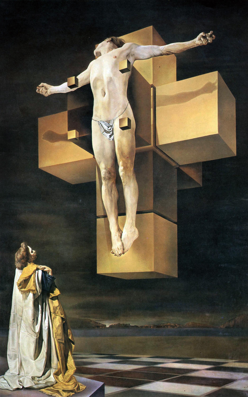 Crucifixion, 1954, Salvador Dali