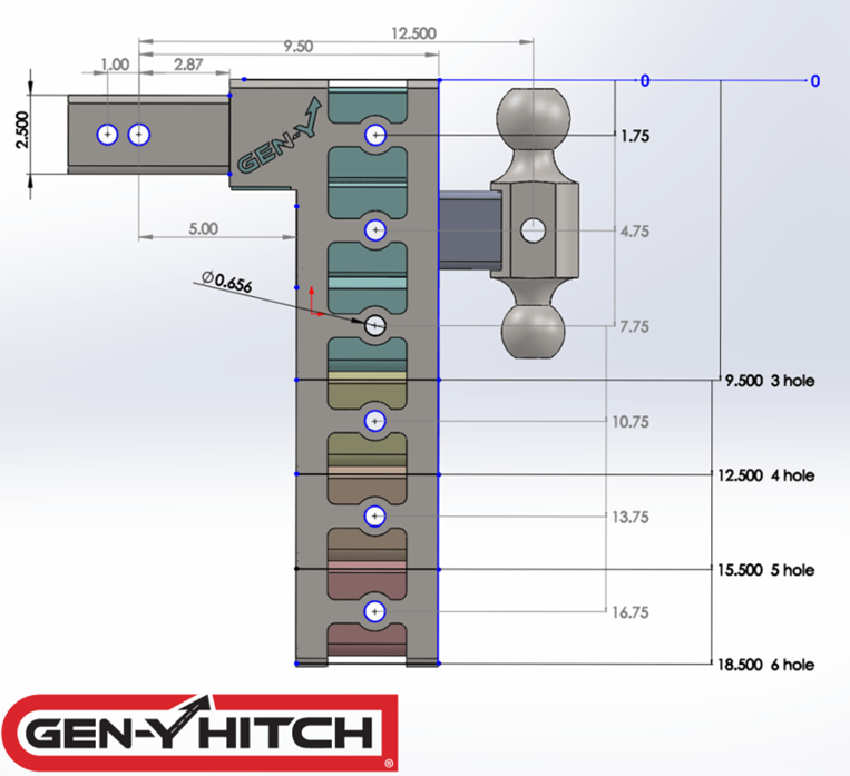 To find out more visit:  https://genyhitch.com/product-category/mega-duty-drop-hitches/